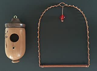 product image for Kentucky Made & More Hummingbird House (Cherry) & Hummingbird Swing