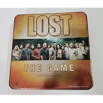 Cardinal Industries Lost - The Game: Toys & Games