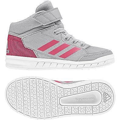 adidas AltaSport Mid EL K, Fitness Chaussures de Fitness K, Fille, Gris Gretwo f5b0e2