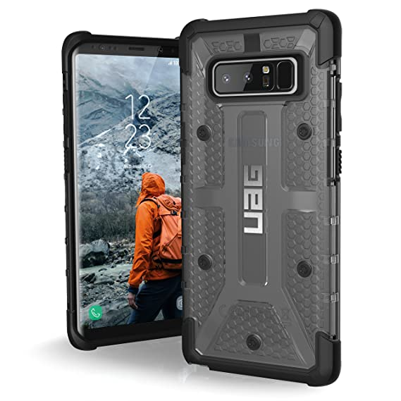 quality design e5313 f2e39 UAG Samsung Note 8 Plasma Feather-Light Rugged [ASH] Military Drop Tested  Phone Case