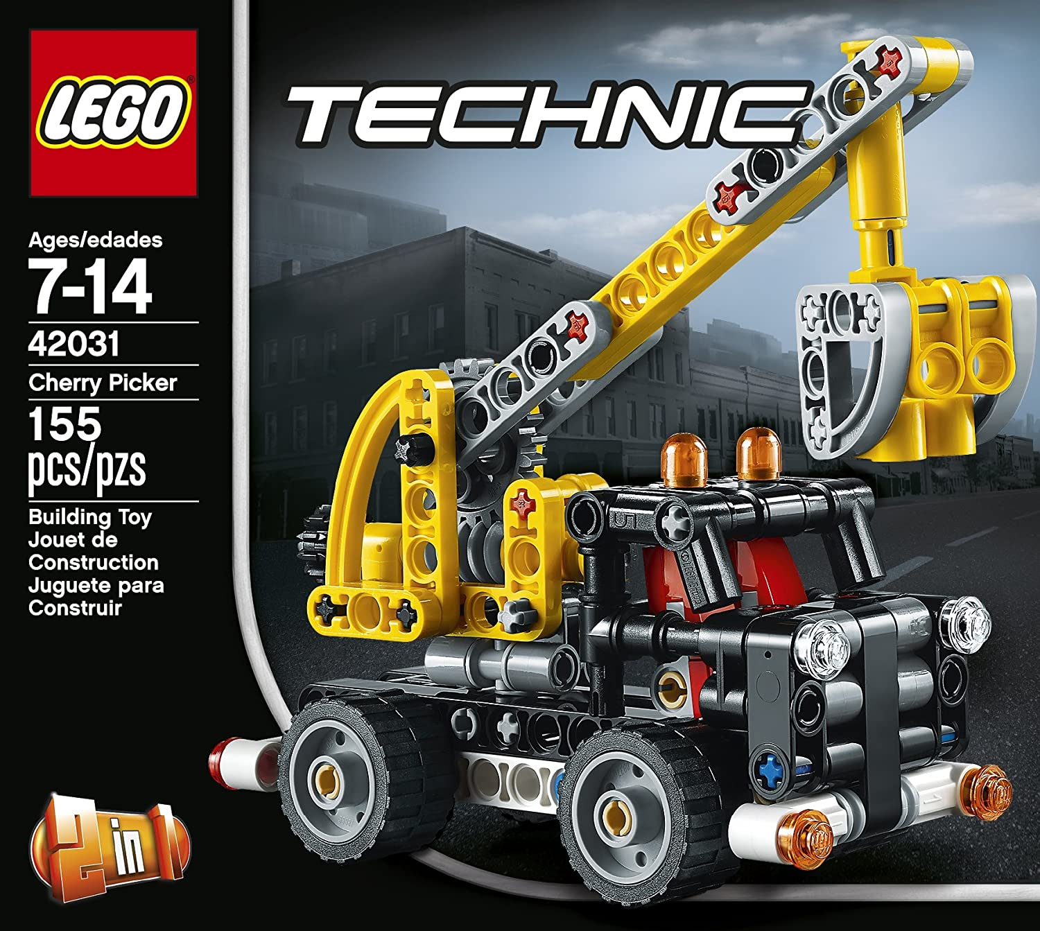 Amazon LEGO Technic Cherry Picker Toys & Games