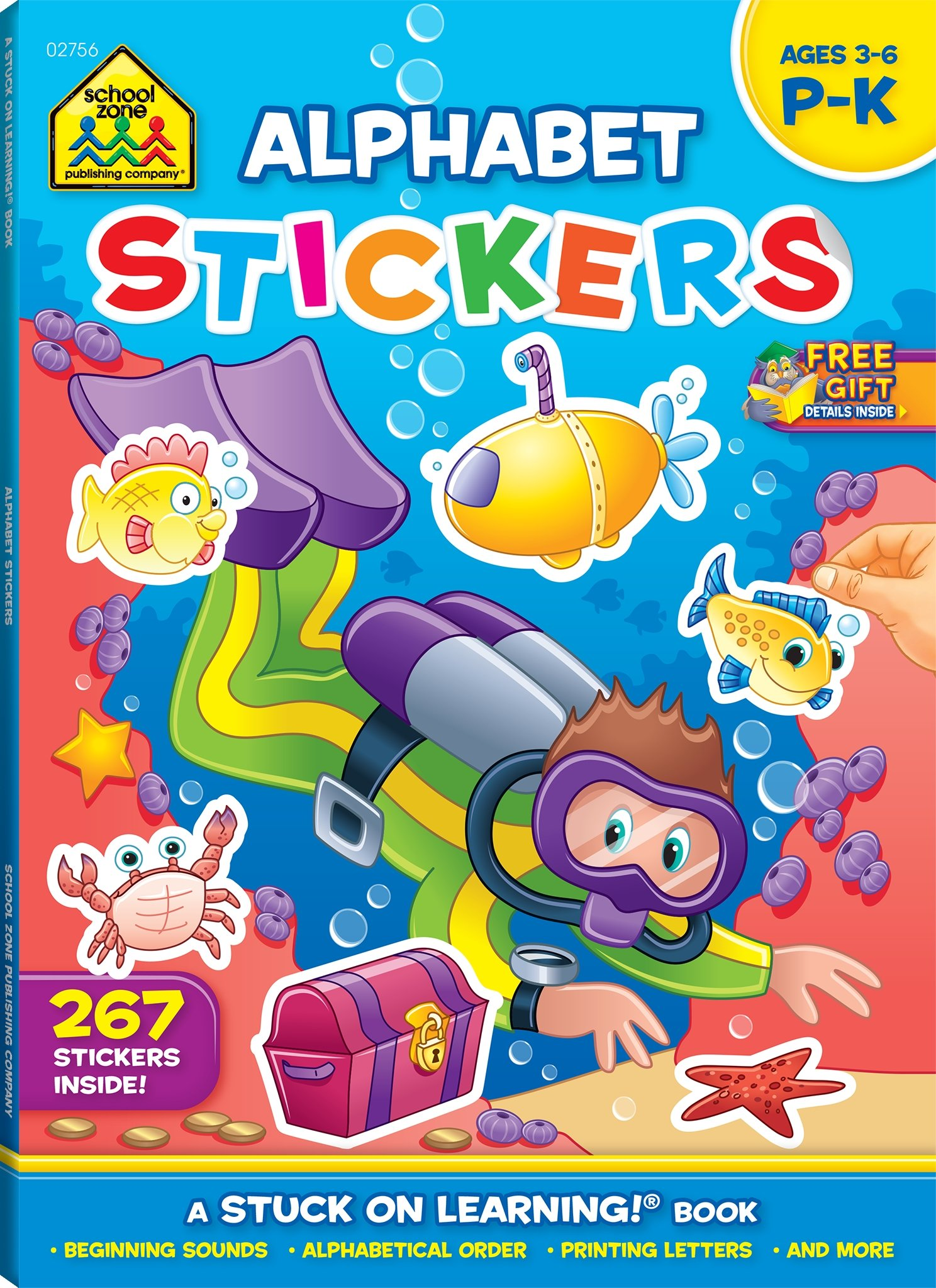 Buy Alphabet Fun: P-k (Stuck on Learning) Book Online at Low Prices ...
