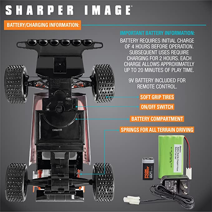 Amazoncom Sharper Image Rc All Terrain Dirt Rodder Race Car High