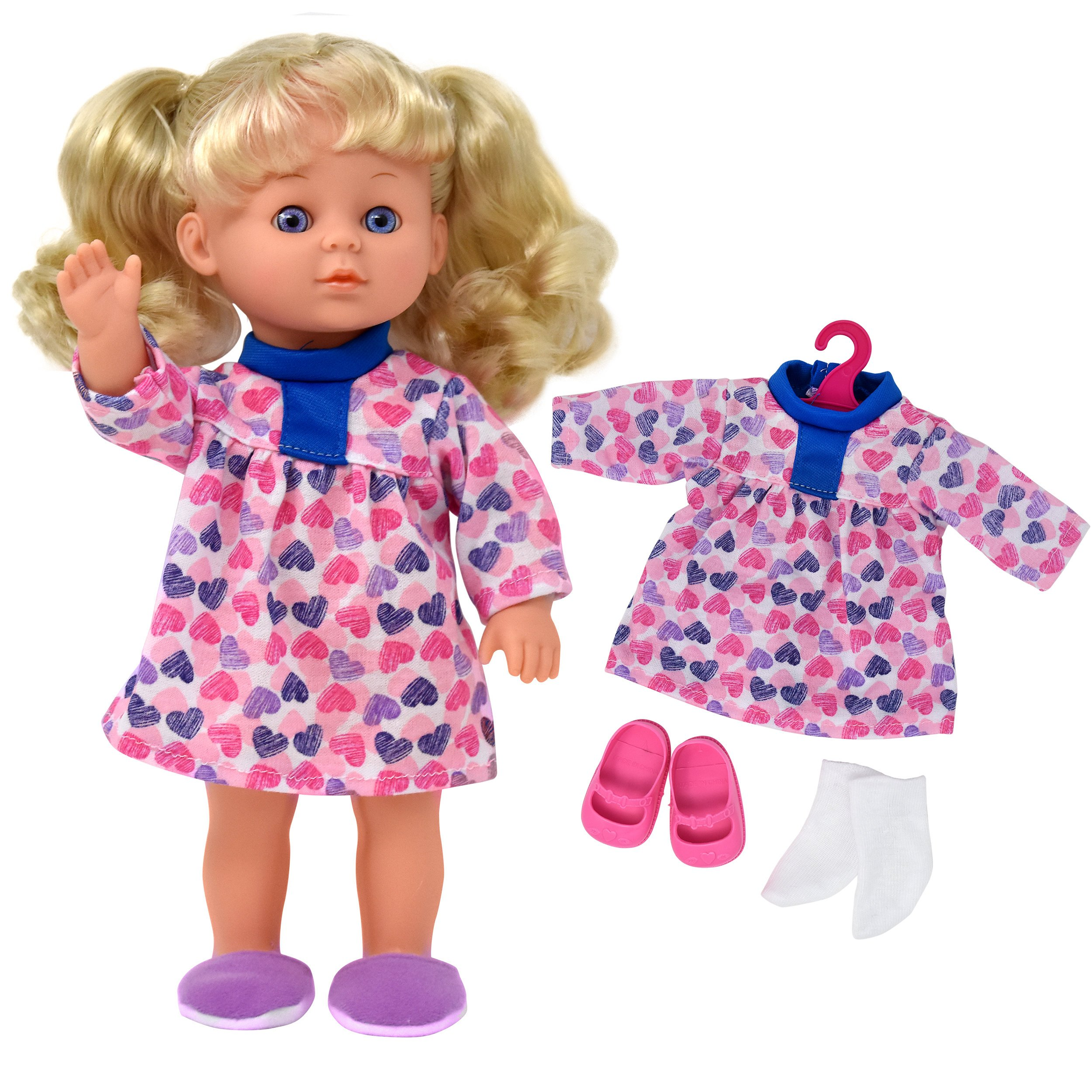 12 Inch Baby Doll with Baby Doll Clothes and Accessories Set