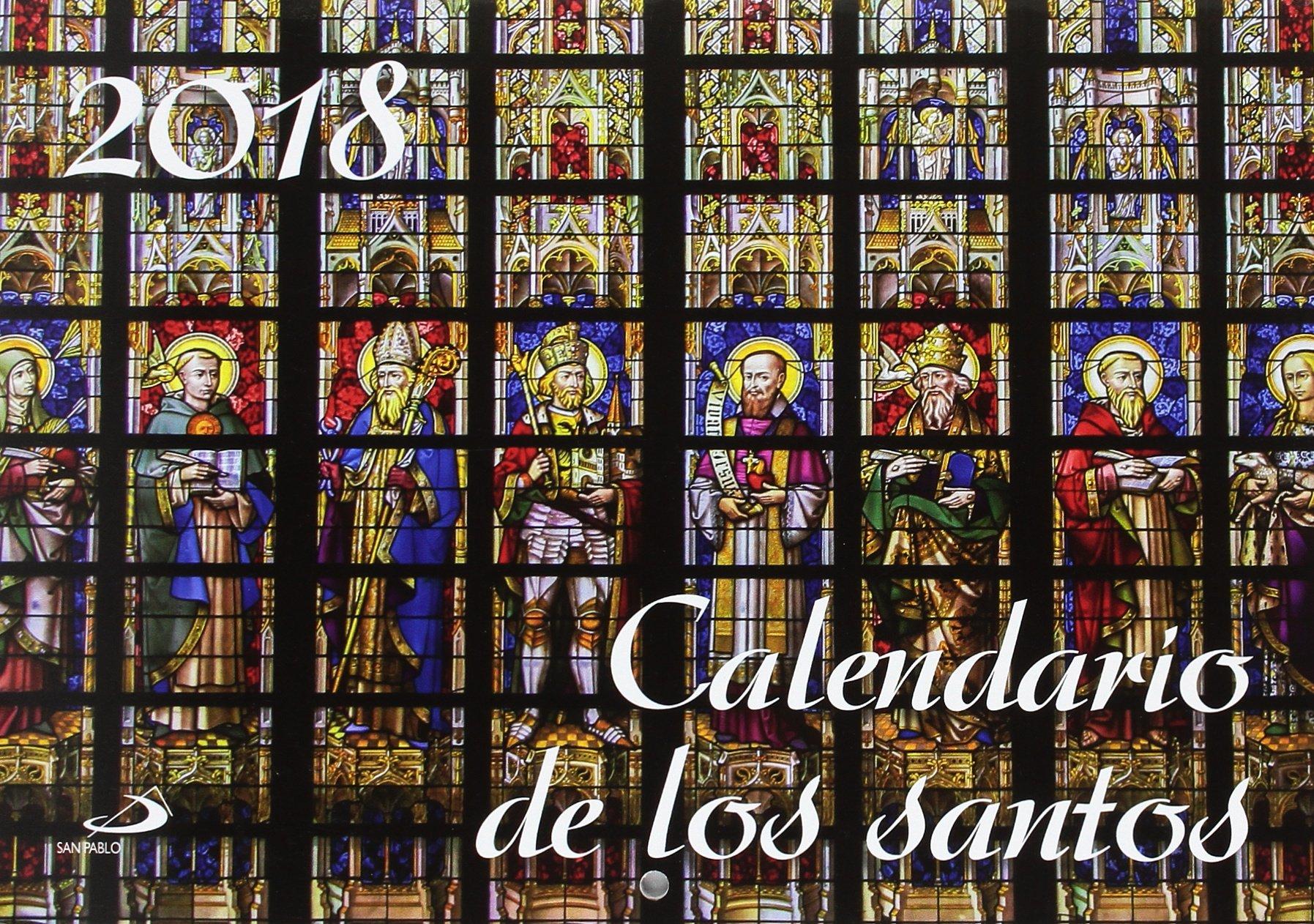 Calendario Santos.Calendario De Los Santos 2018 9788428553469 Amazon Com Books