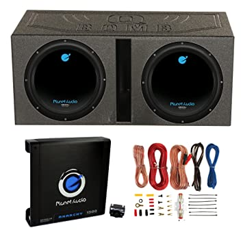 Amazon 2 planet audio 12 1800w subwoofers vented lined 2 planet audio 12quot 1800w subwoofers vented lined box enclosure amp keyboard keysfo Images