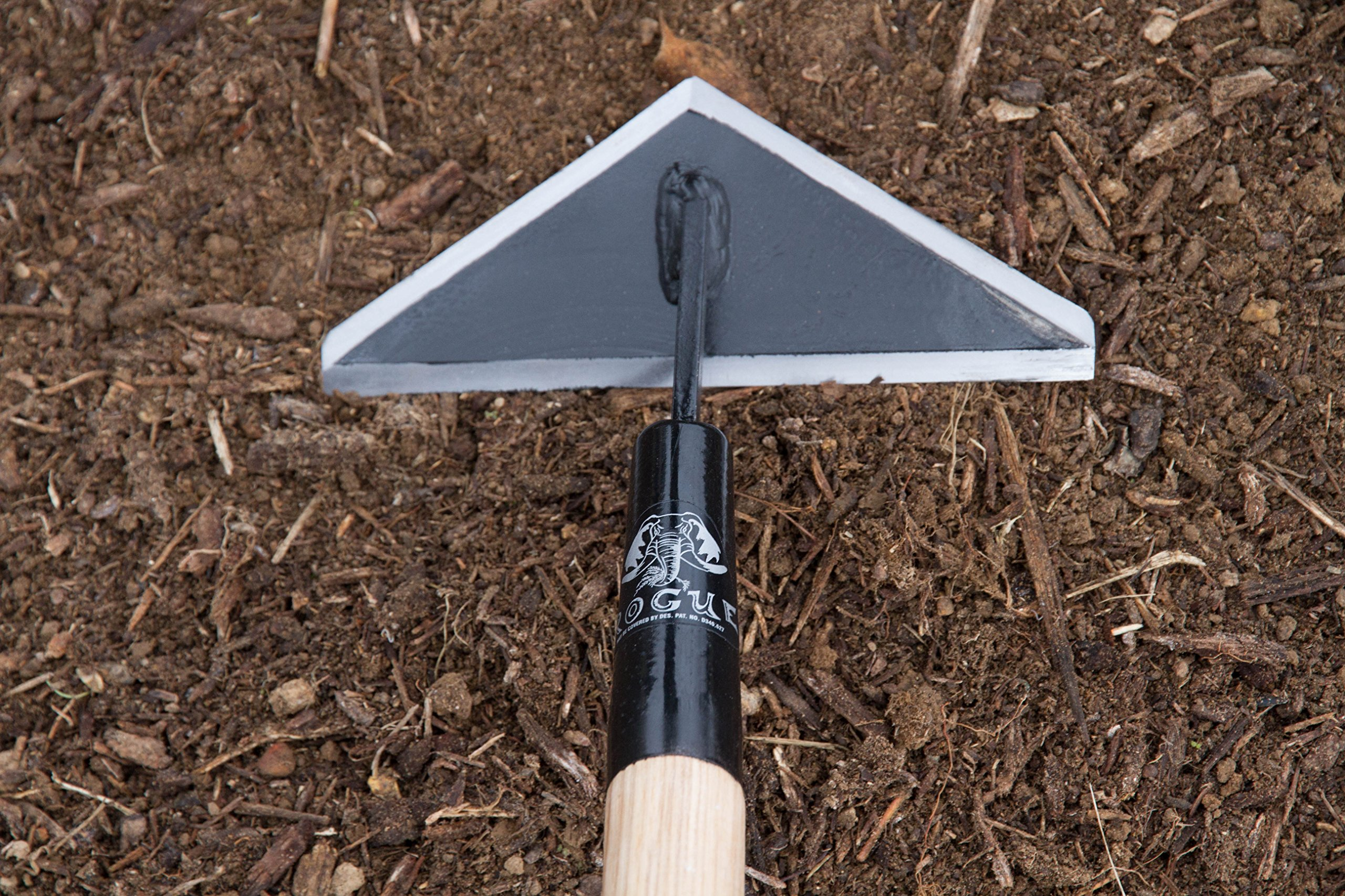 Prohoe Rogue 8'' Scuffle Hoe (80S) with 60'' Ash Handle by Rogue
