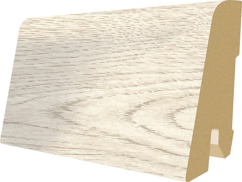 8mm, 1,994 m/² Laminatboden wasserfest Feuchtraum geeignet EGGER Home Aqua+ Laminat braun Holzoptik Creston Eiche natur EHL106