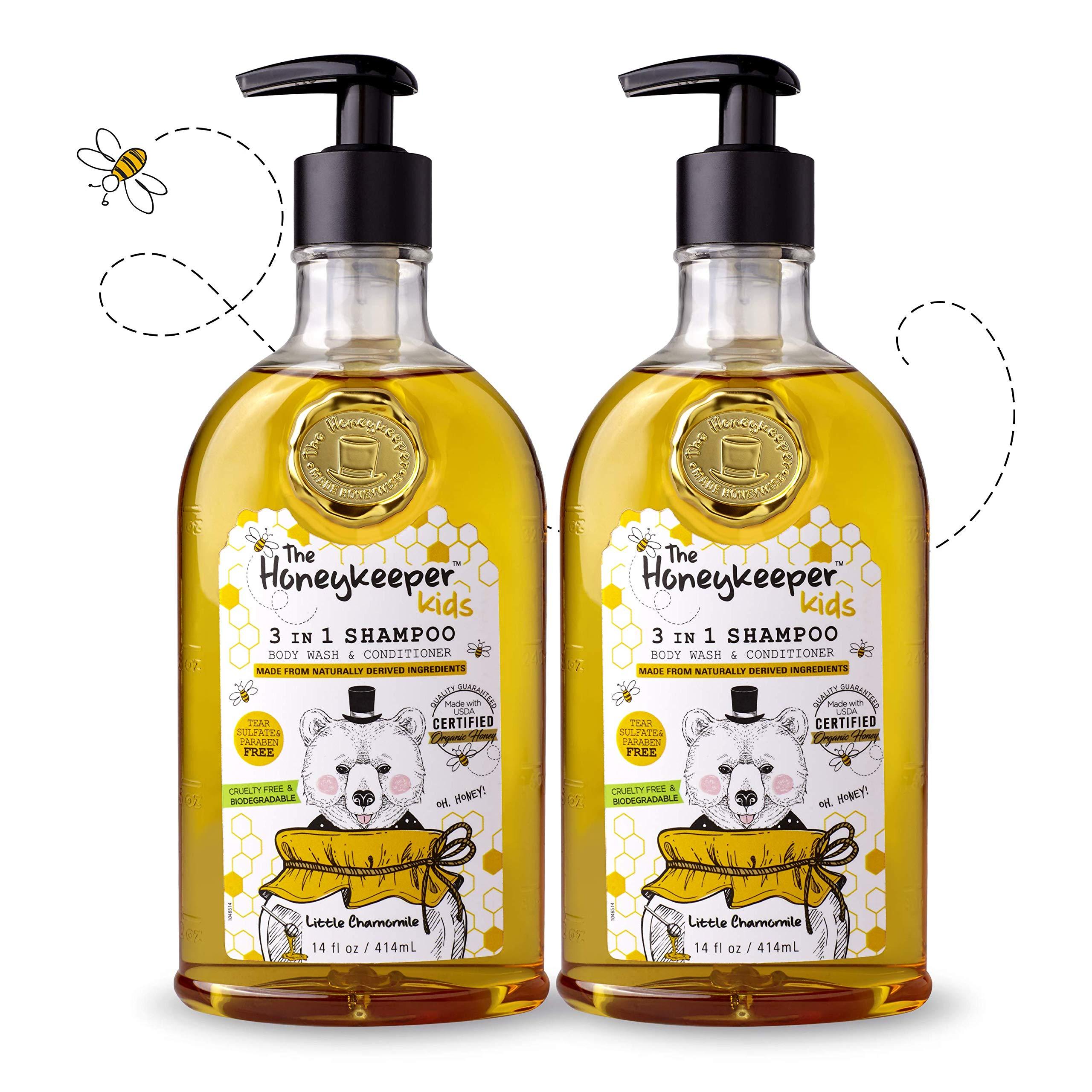 Honeykeeper Kids Shampoo Little Chamomile, 14 fl. oz. 2pk by The Honeykeeper