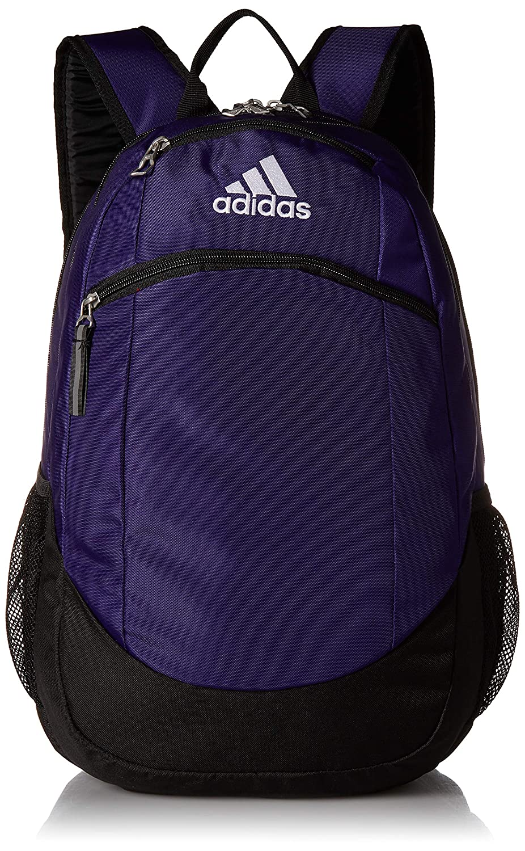 adidas Unisex Striker II Team Backpack Black/White One Size Agron Inc (adidas Bags) 975967