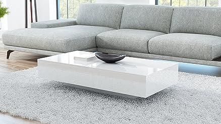 Tavolino da salotto VIENNA 120 bianco: Amazon.it: Casa e cucina