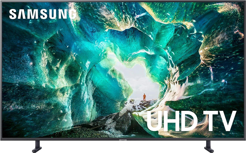 Samsung UN49RU8000FXZA Flat 49-Inch 4K 8 Series Ultra HD Smart TV with HDR and Alexa Compatibility (2019 Model)