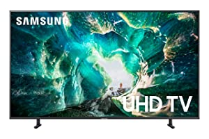 Samsung UN55RU8000FXZA Flat 55-Inch 4K 8 Series Ultra HD Smart TV with HDR and Alexa Compatibility (2019 Model)