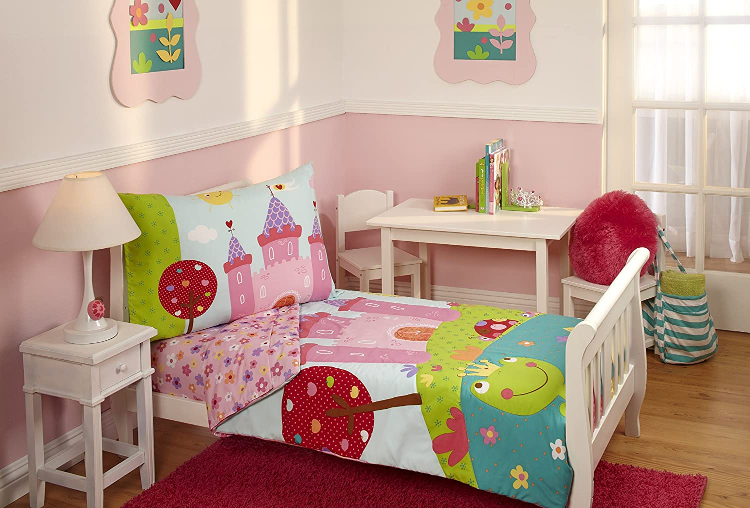 toddler bedroom.  Amazon com Everything Kids Toddler Bedding Set Fairytale Baby