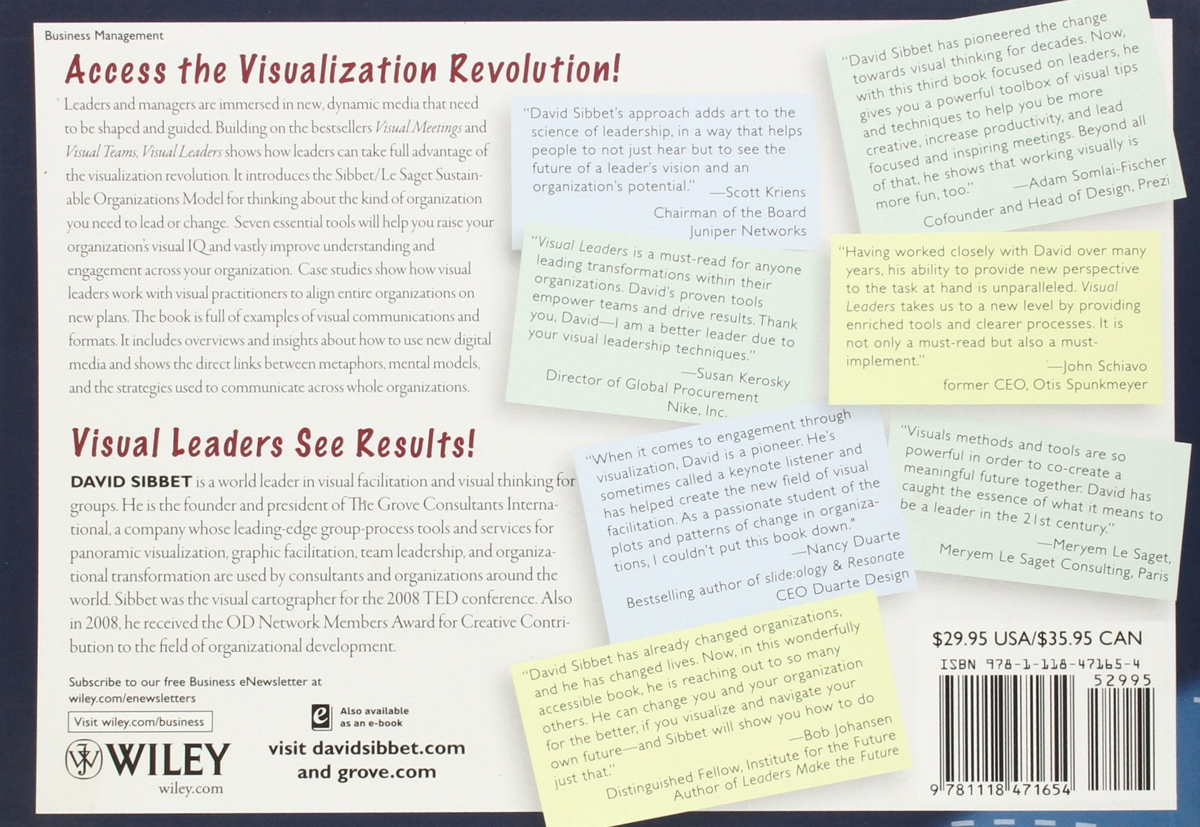 Visual Leaders New Tools for Visioning Management and