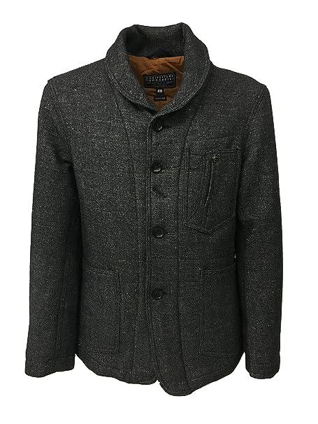 MANIFATTURA CECCARELLI giacca uomo mod 7015 nero sale e pepe MADE IN ITALY   Amazon.it  Abbigliamento 027fa7bda26