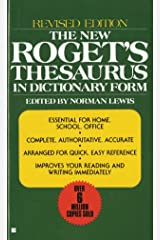 The New Roget's Thesaurus in Dictionary Form: Revised Edition Mass Market Paperback