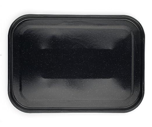 Russell Hobbs cw11441 romano esmalte vítreo bandeja de horno, 40 cm), color negro: Amazon.es: Hogar