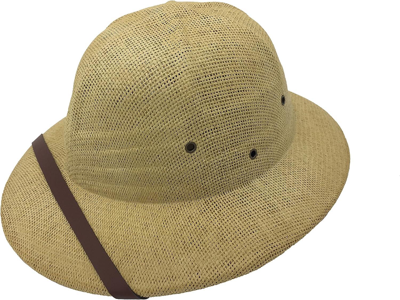 kainozoic Outdoor Safari Straw Pith Helmet Costume Hat Bike Helmet