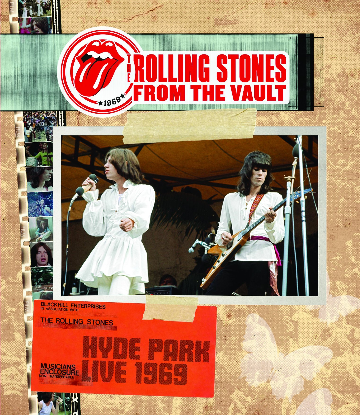 DVD : The Rolling Stones - The Rolling Stones From the Vault: Hyde Park 1969 (DVD)