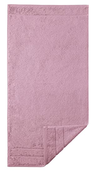 Egeria Prestige Supima - Toalla, color rosa, algodón, Rosa grisáceo, toalla de manos: 50 x 100 cm: Amazon.es: Hogar