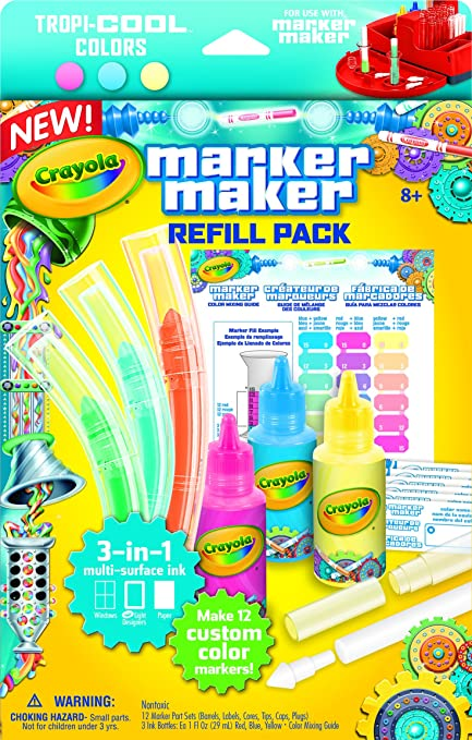 Crayola Marker Maker Refill, Pastel Colors: Crayola: Amazon.com.mx ...