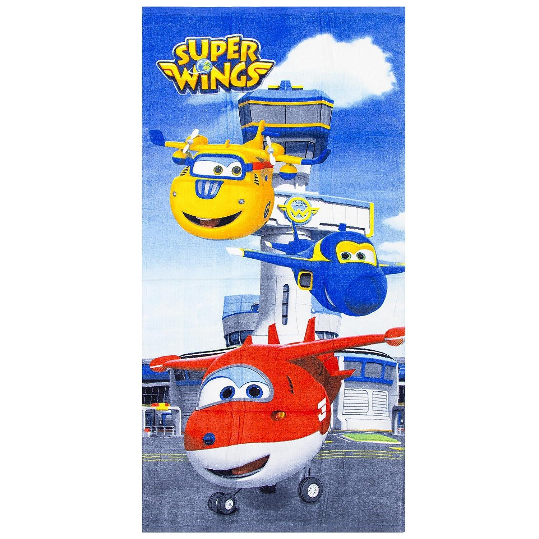 Super Wings Kids Beach Towel (Blue) Sun City