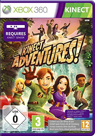 Kinect Adventures! - Kinect: Amazon co uk: PC & Video Games
