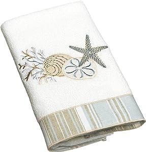 Avanti Linens By The Sea Hand Towel, White