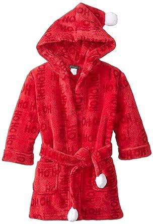 Amazon.com  Petit Lem Little Girls  Santa and Elves Bathrobe  Clothing f216996b9