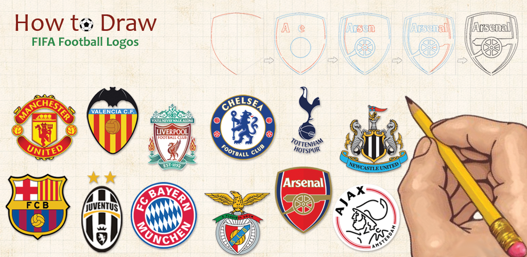 how to draw fifa football logos amazonca appstore for