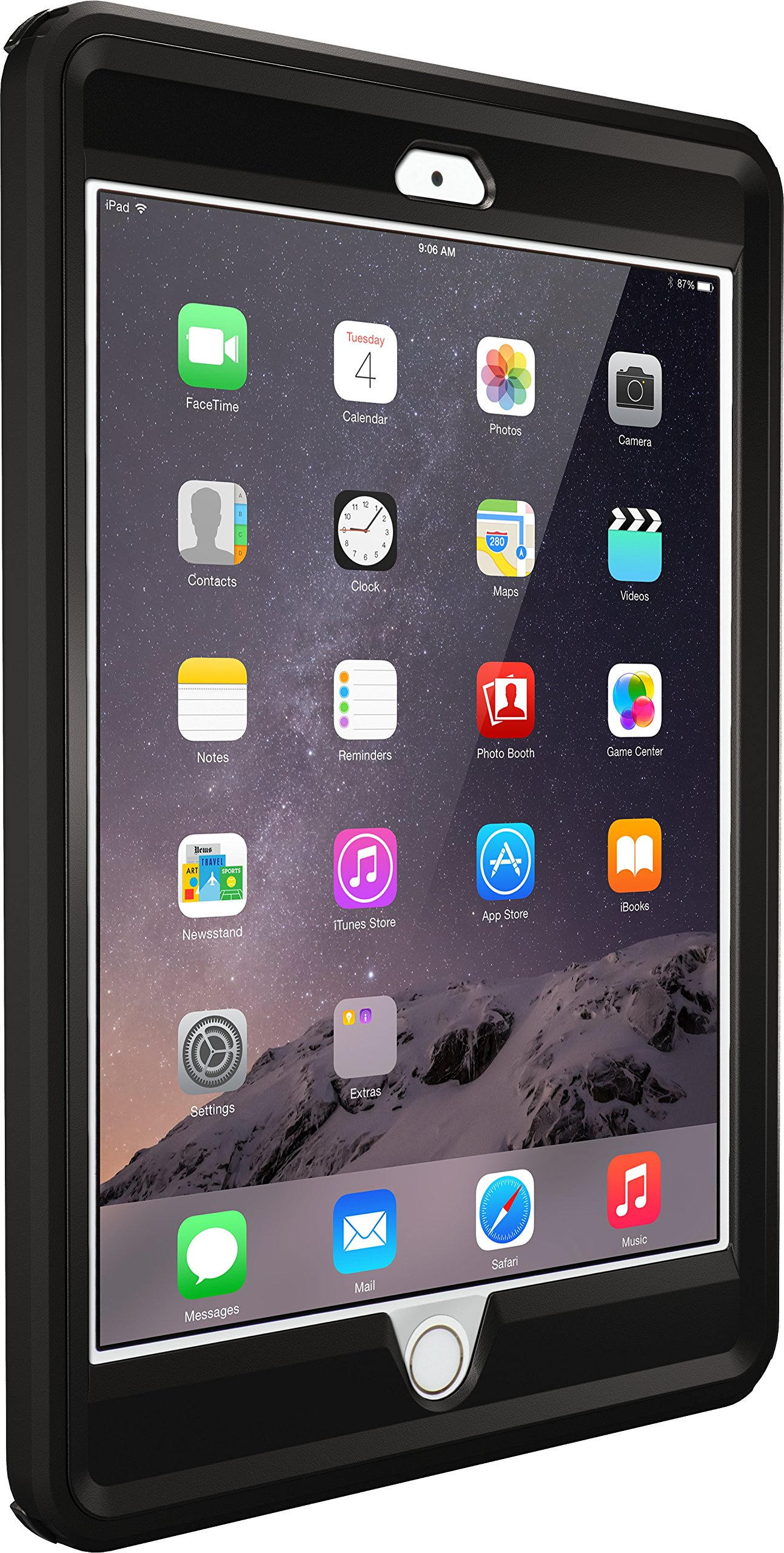 OtterBox DEFENDER SERIES Case for iPad Mini 1/2/3 - Retail Packaging - BLACK by OtterBox