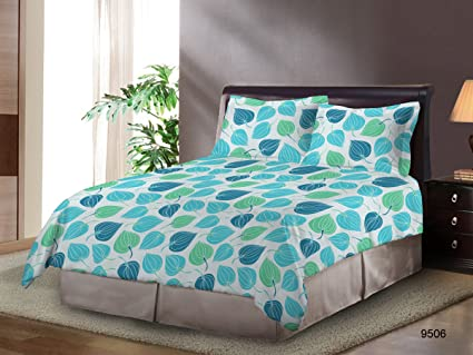 Bombay Dyeing Polly Cotton Double Bed Sheet