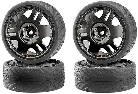 Carson 500900025 - 1:10 Big Wheel Set Ruedas Drift, Modellbauzubehör, 4 piezas