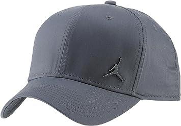 Nike Jordan Clc99 Metal Jumpman Gorra de Tenis, Unisex Adulto, Gris (Dark Grey