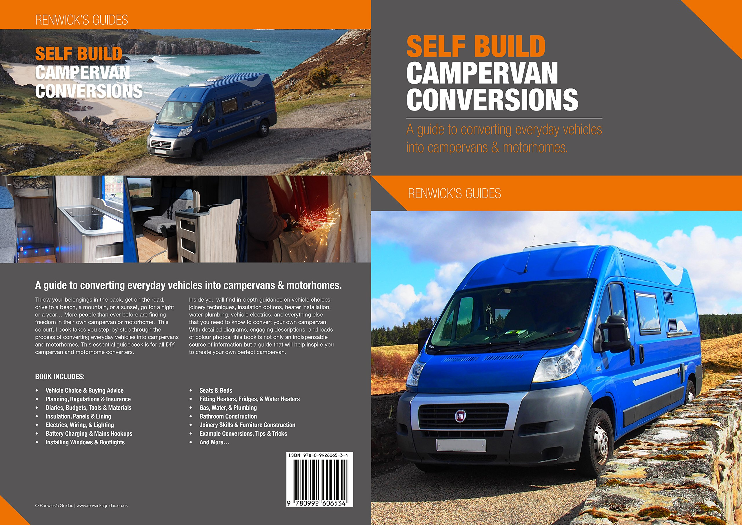 Camper Conversion Guide Elantra Electrical Troubleshootin G Manual Wiring Daigrams 97 Gls Best Diy Promaster Campervan Array Self Build Conversions A To Converting Everyday Rh Amazon