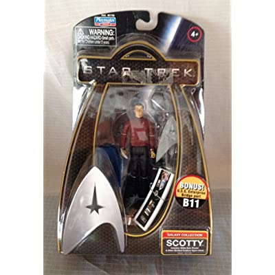 Star Trek Movie Playmates 3 3/4 Inch Action Figure Uhura (Enterprise Uniform): Toys & Games