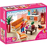 Playmobil grand bathroom toys games for Salle a manger playmobil 5332