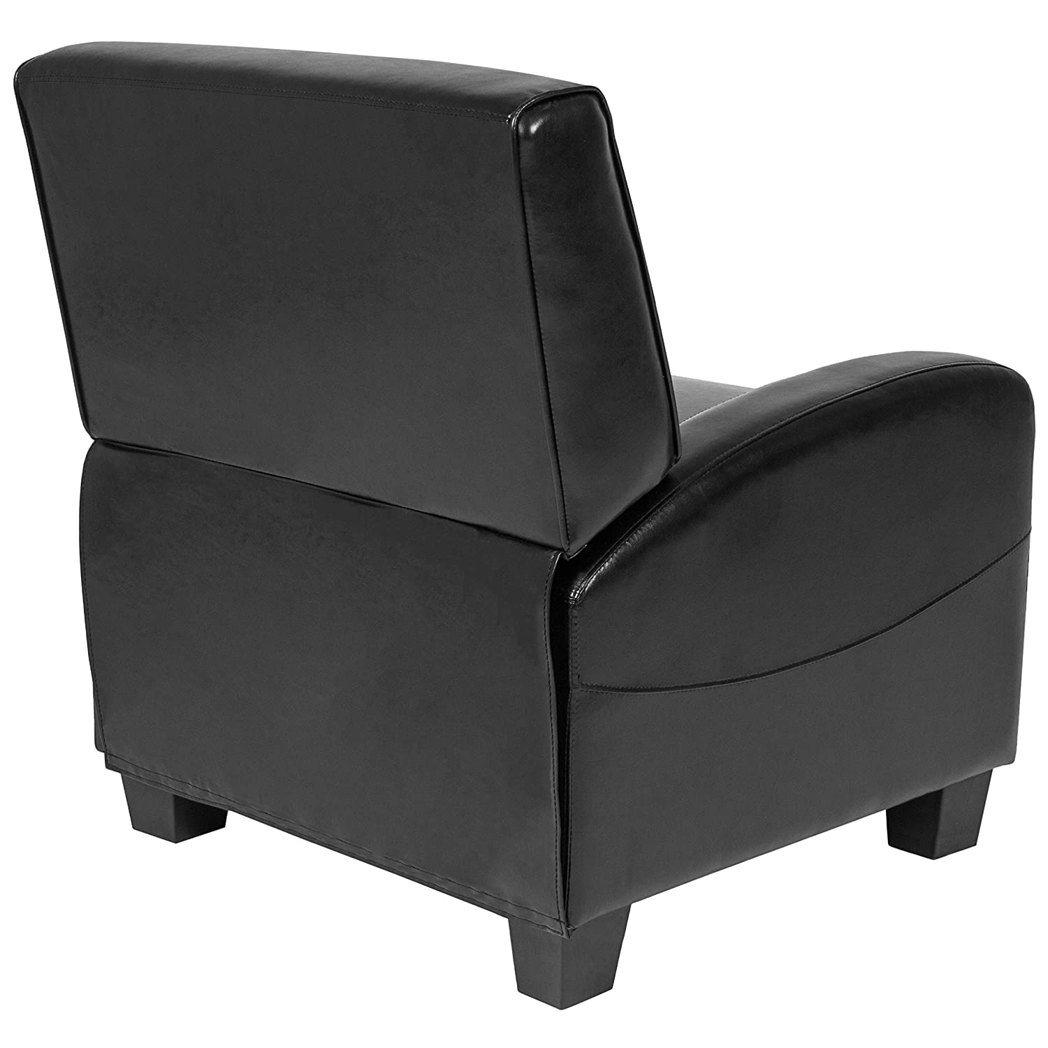 Amazon.com Best Choice Products Padded Upholstery Faux Leather Modern Single Recliner Chair for Living Room Home Theater - (Black) Kitchen u0026 Dining  sc 1 st  Amazon.com & Amazon.com: Best Choice Products Padded Upholstery Faux Leather ...