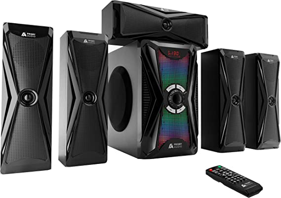 Frisby Audio 125 Watt Home Theater 5 1 Surrou