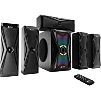 Frisby Audio 125 Watt Home Theater 5.1 Surround Sound Speaker System with Subwoofer,…