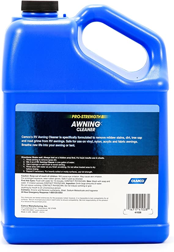 Amazon Com Camco 41028 Pro Strength Awning Cleaner 1 Gallon Automotive