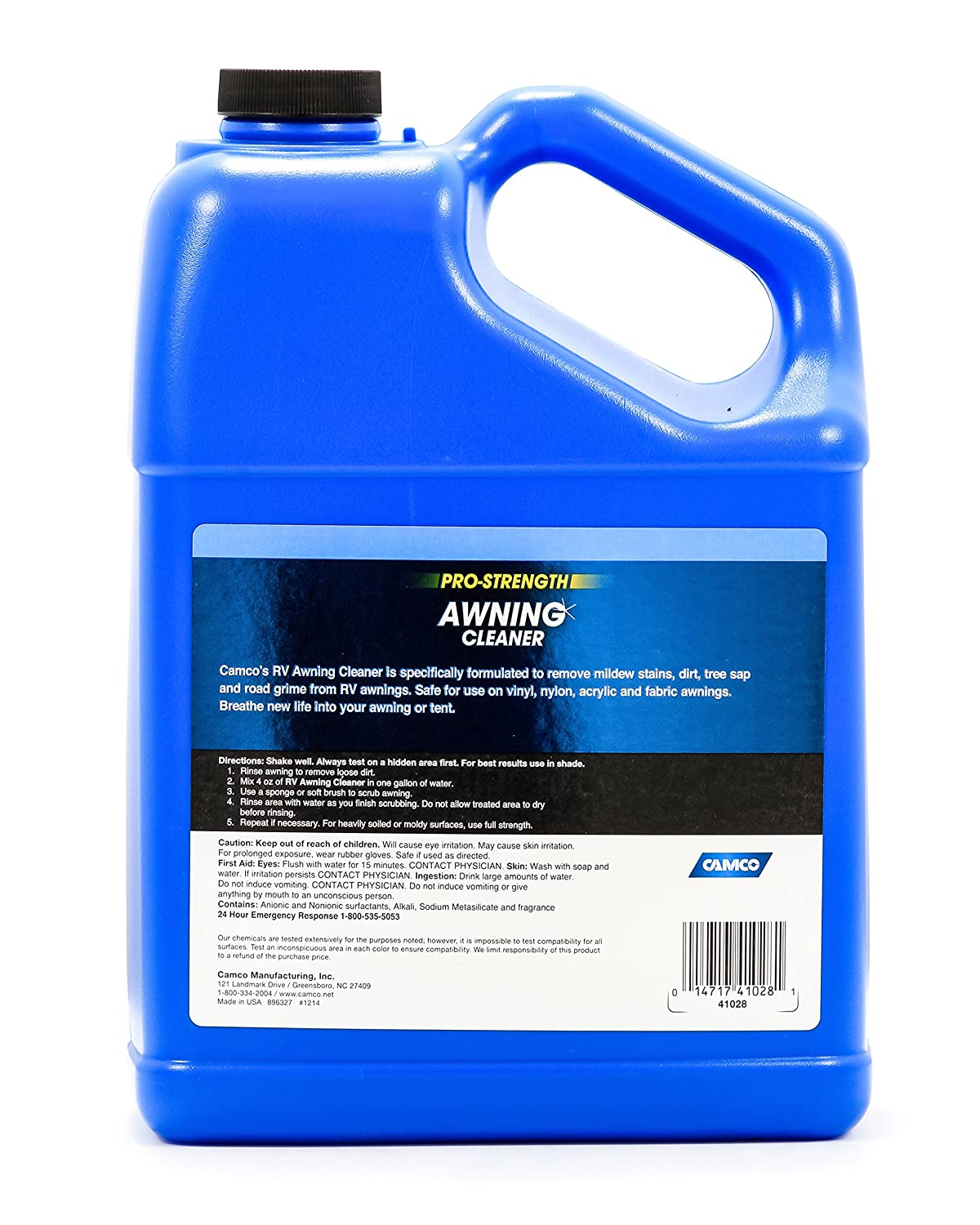 Amazon Camco Pro Strength Awning Cleaner 1 Gallon