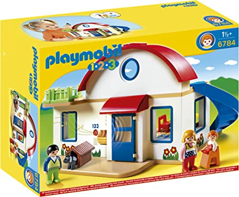 Playmobil 10.10.10 Suburban Home Playset, Building Sets - Amazon Canada