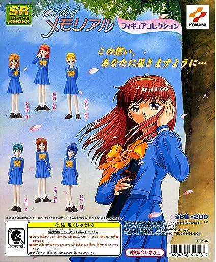 Amazon Com All Six Species Sr Tokimeki Memorial Figure Collection Japan Import Toys Games