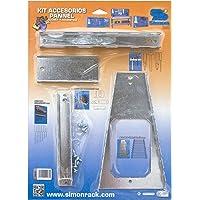 SimonRack SI1012 Blíster Accesorios, Galvanizado, 470 x 340