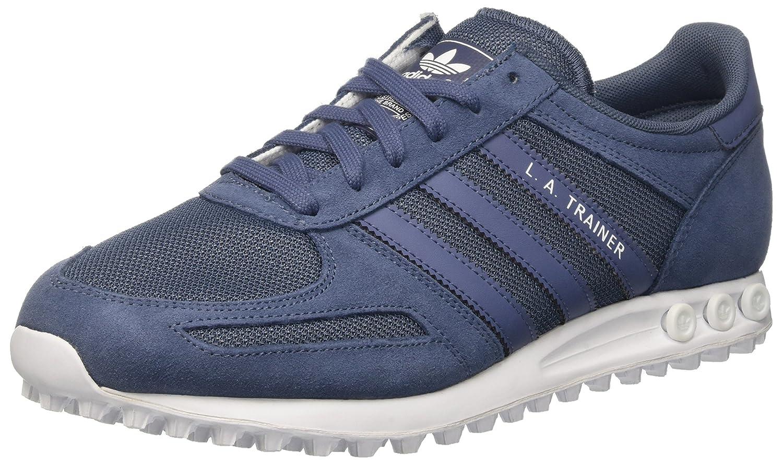 adidas Damen La Trainer W Gymnastik  40 EU|Blau (Tech Ink/Tech Ink/Ftwr White)