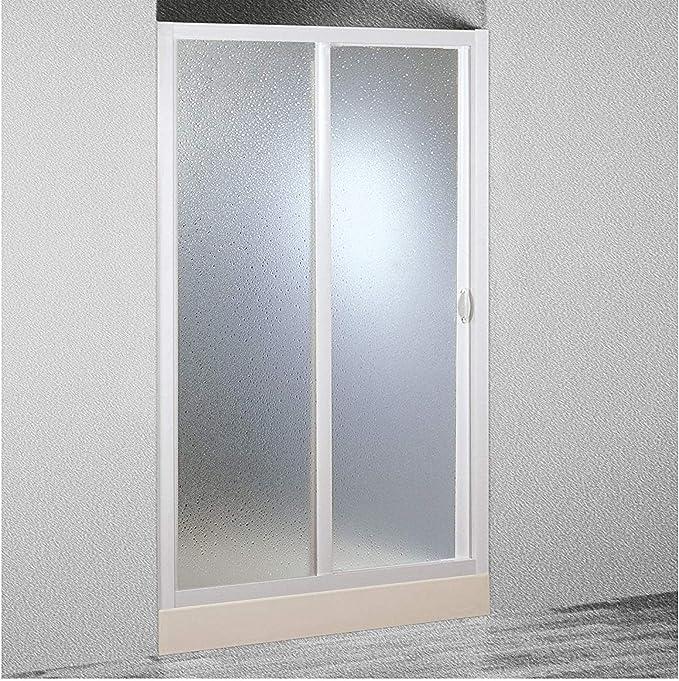 Mampara de ducha 1 lado 150 cm reducible: Amazon.es: Bricolaje y ...