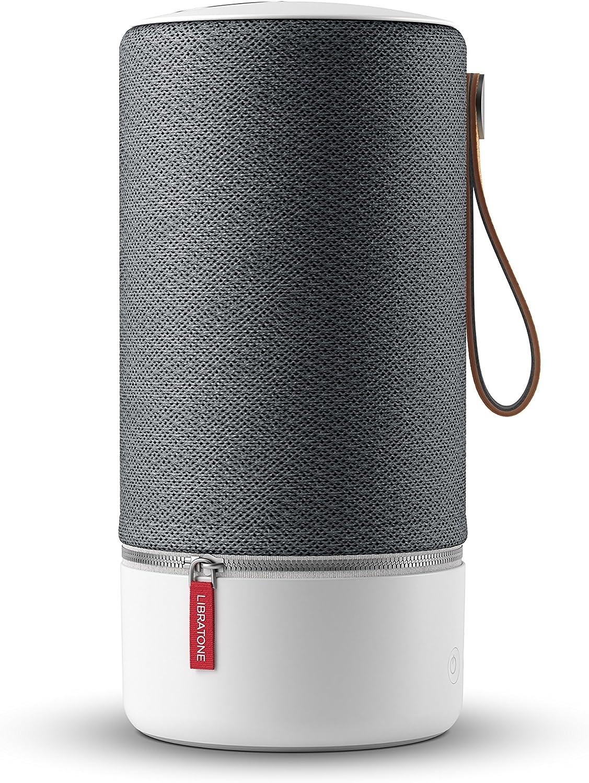 Libratone Zipp Wireless Lautsprecher 360 Sound Wlan Bluetooth Multiroom Airplay 2 Spotify Connect 10 Std Akku Graphite Grey Audio Hifi