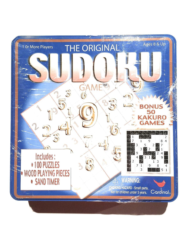 Sudoku Kakuro Deluxe game Tin